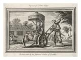 Japanese Push-Rickshaw Giclee Print
