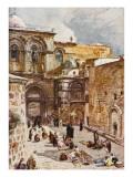 Jerusalem: Church of the Holy Sepulchre Giclee Print