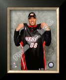 Michael Beasley  2 Pick 2008 NBA Draft Framed Photographic Print