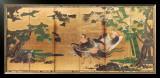 Phoenix and Paulownia Prints by Tosa Mitsuyoshi