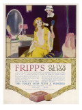 Fripp's Olive Oil Soap - the Toilet Soap with a Pedigree Giclee Print