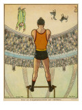 From the Trapeze; How the Acrobat Sees His Audience Giclee Print