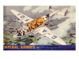 Imperial Airways G-Afdi Giclee Print