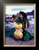 Grateful Framed Giclee Print by Ronald Laes