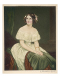 Jenny Lind Soprano Singer, known as 'the Swedish Nightingale' Giclee Print
