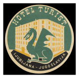 Hotel Turist, Ljubljana (Slovenia) Giclee Print