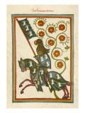 Hartmann Von Aue Giclee Print