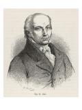 Franz Josef Gall Founder of Phrenology Giclee Print