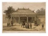 Joss-House at Ning-Bo Giclee Print