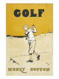 Golf' by the Famous Player Henry Cotton Giclee Print