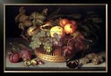 Fruit Basket Print by Johannes Bosschaert