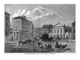 In Camden, Between Euston and St Pancras : the Polygon Giclee Print