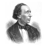 Hans Christian Andersen, Giclee Print