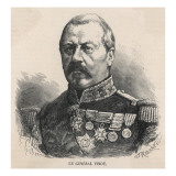 General Joseph Vinoy French Military Commander, in 1870 Giclee Print