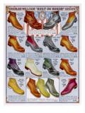 Footwear Catalog Giclee Print