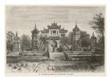 Hanoi: the Temple of Confucius Giclee Print