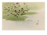 Japanese Print-Riverbank Giclee Print by Robert Gillmor