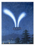Imaginary UFO Giclee Print by Michael Buhler