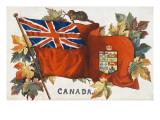 Flag of Canada Giclee Print