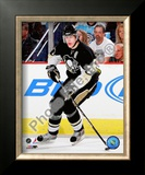 Evgeni Malkin - 2009 Playoff Action Framed Photographic Print