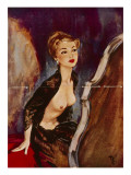 January, 1954 Giclee Print by David Wright