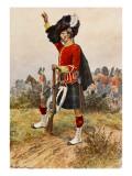 Gordon Highlanders Giclee Print