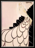 Mistinguett, Maquette Framed Giclee Print by Charles Gesmar