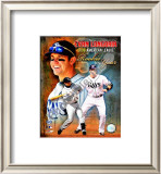 Evan Longoria 2008 American League Rookie Of The Year Framed Photographic Print