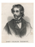 John Charles Fremont American Soldier and Explorer Giclee Print