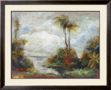 Tropical Inlet Art by Joel Giovanni