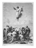 Jesus Ascends to Heaven Giclee Print