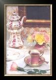 High Tea Limited Edition Framed Print by Harvey Edwards