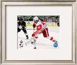 Henrik Zetterberg, Game 4 Action of the 2008 NHL Stanley Cup Finals Framed Photographic Print
