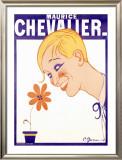 Maurice Chevalier Framed Giclee Print by Charles Gesmar