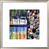 Stones Framed Giclee Print by Scott Neste