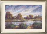 Pastel Landscape I Prints by Oliver Norton
