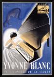 Yvonne Blanc Framed Giclee Print by  Jac