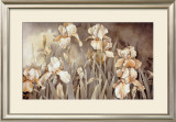 Field of Irises Print by Linda Thompson