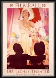 Filmball, c.1935 Framed Giclee Print by Julius U. Engelhard