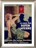 Im Haus Zur Roten Laterne Framed Giclee Print by Hans Neumann