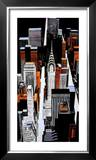Chrysler Building Sky View Limited Edition Framed Print by Joan Farré
