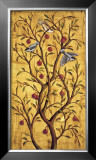 Plum Tree Panel III Prints by Rodolfo Jimenez