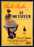 Chaplin le Dictateur Framed Giclee Print by Pierre Bouvry