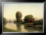 By the Riverside Prints by Udell