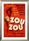 Josephine Baker, Zou Zou Framed Giclee Print