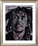 Bob Marley Mosaic Posters