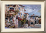 Italian Village II Prints by Joseph Kim