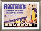 Coureur Speedway Framed Giclee Print