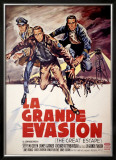 The Great Escape (French Release) Framed Giclee Print