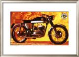 Bultaco Metralla MK2 Motorcycle Framed Giclee Print
